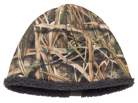 Browning Wicked Wing High Pile Fleece Beanie Polyester Mossy Oak Shadow Grass Blades Camo