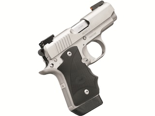 """Kimber Micro 9 Stainless (DN) Pistol 9mm Luger 3.15"""" Barrel 7-Round Stainless Steel with TRUGLO TFX Pro Sights and Hogue WrapAround Grip Black"""