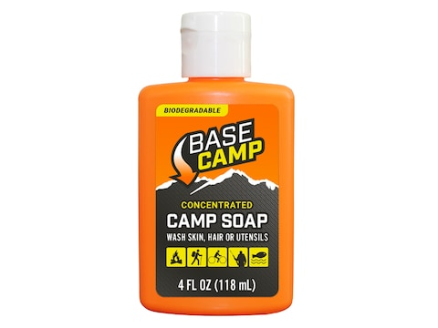 Dead Down Wind Base Camp Scent Elimination Biodegradable Camp Soap 4 oz