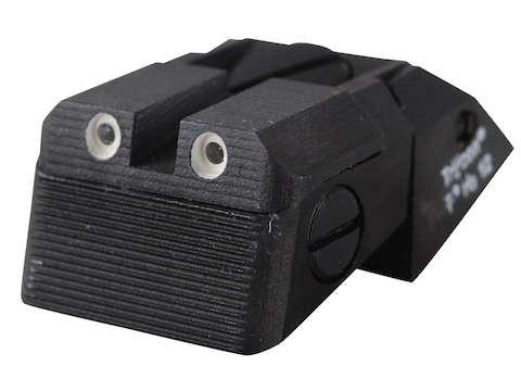 Kensight Fully Adjustable Defensive Rear Night Sight 1911 Novak LoMount Cut Steel Black...