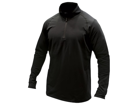 MidwayUSA Men's Level Two 1/4 Zip Long Sleeve Base Layer Shirt