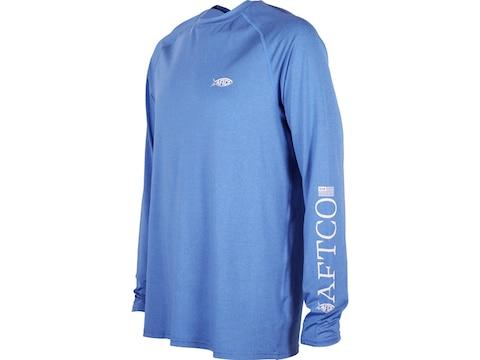 AFTCO Men's Yurei Air-O-Mesh Long Sleeve T-Shirt