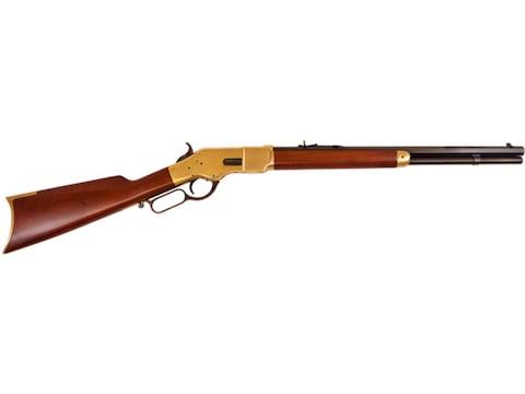 "Cimarron 1866 Yellowboy Short Rifle 20"" Barrel Blue, Walnut"