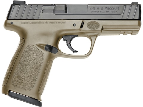 """Smith & Wesson SD9 Pistol 9mm Luger 4"""" Barrel 16-Round"""