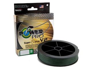 Power Pro Super Slick 8 V2 Braided Fishing Line 8lb 150yd Moss Green