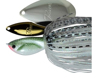 Picasso Willow Indiana Spinnerbait 3/8oz Gizzard Shad Gold/Nickel