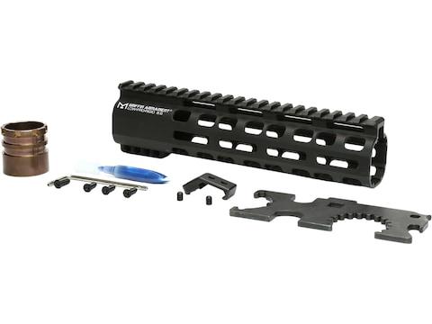 Griffin Armament Low Pro Rigid Rail M-Lok Handguard AR-15 Aluminum Black