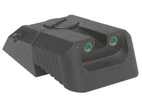 Kensight Adjustable Defensive Rear Night Sight 1911 Novak LoMount Cut Steel Black Reces...