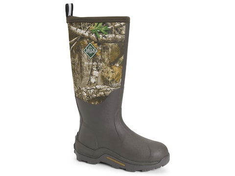 "Muck Woody Max 17"" Waterproof Insulated Hunting Boots Rubber and Nylon Men's"