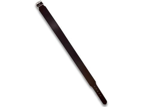 """Hunter Belt 2-1/2"""" Wide Leather Antique Brown"""