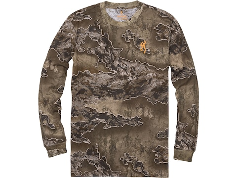 Browning Men's Wasatch Long Sleeve T-Shirt