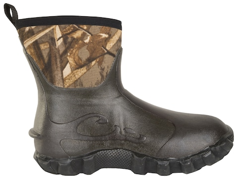 "Drake 7"" Mud-Top Mudder 2.0 Rubber Boots Men's"