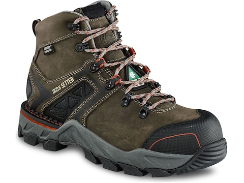 """Irish Setter Crosby 6"""" Puncture-Resistant Non-Metallic Safety Toe Work Boots Women's"""