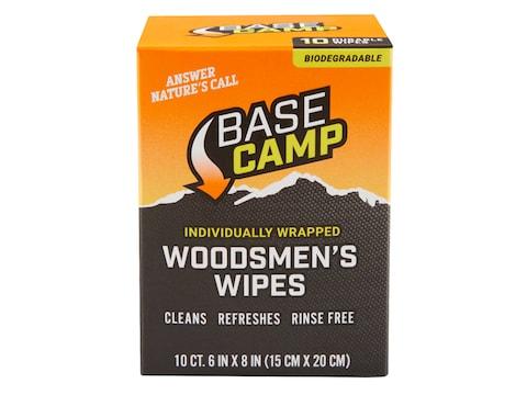 Dead Down Wind Base Camp Biodegradable Woodsmen's Wipes Pack of 10