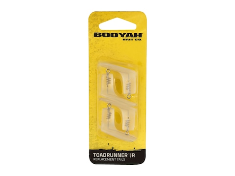 BOOYAH ToadRunner Jr Replacement Tails 4 Pack Opaque