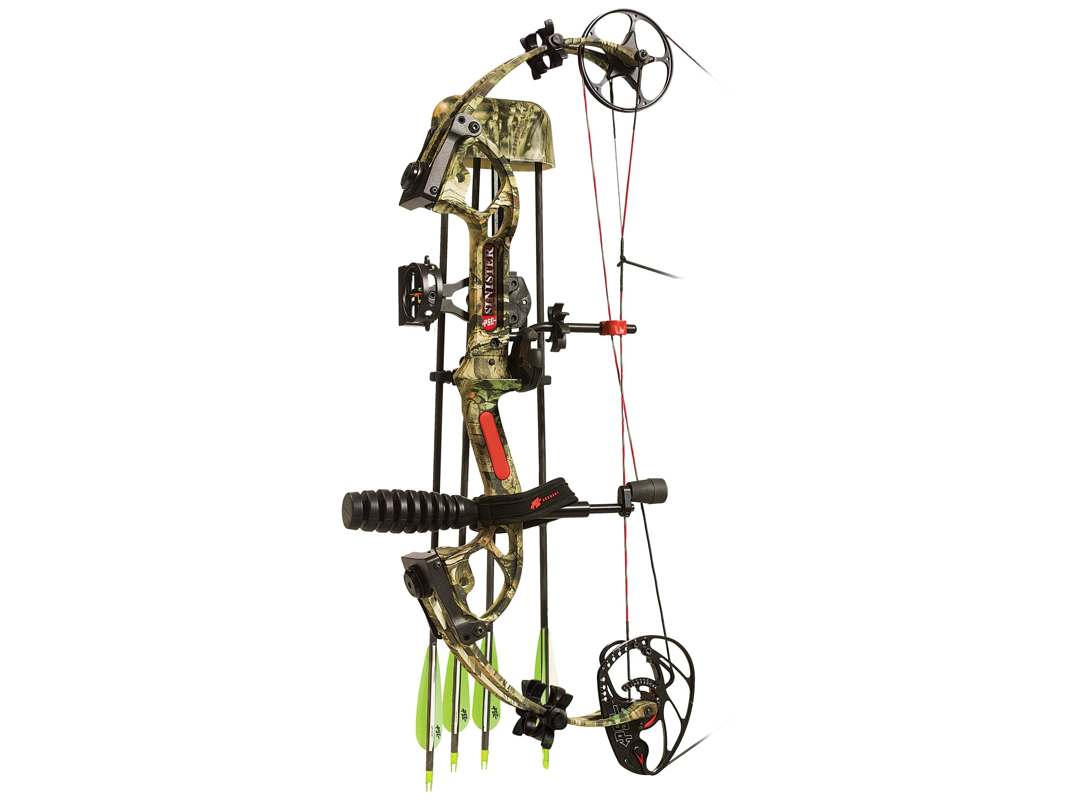 PSE Sinister Compound Bow Package Right Hand 60-70 lb 25 5-30 5 Draw