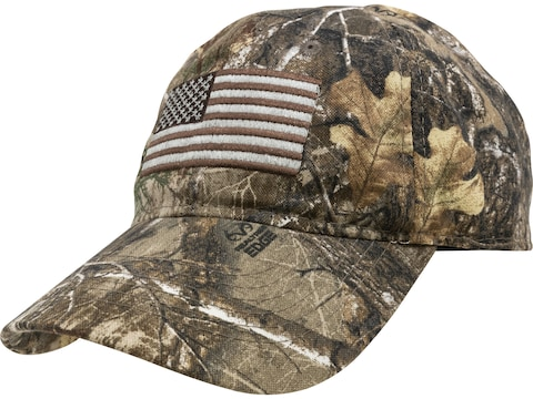 MidwayUSA Cap Cotton American Flag Realtree EDGE Camo