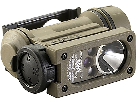Streamlight Sidewinder Compact II Military Model Flashlight LED with 1 CR123A Battery A...
