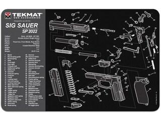 Tekmat Handgun Sig Sauer SP022 Cleaning Mat Black