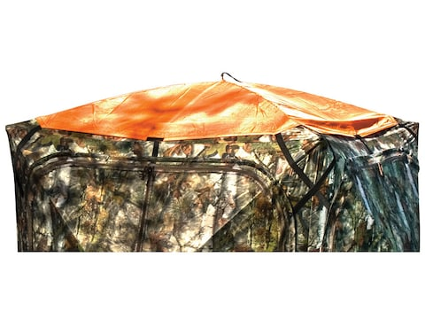 Barronett Ground Blind Safety Cap Polyester Blaze Orange
