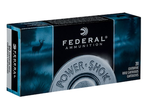 Federal Factory Second Power-Shok Ammunition 25-06 Remington 117 Grain Speer Hot-Cor So...