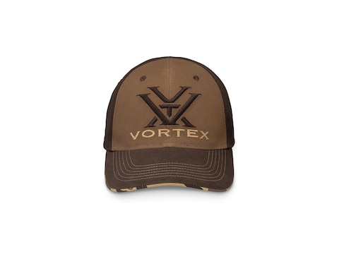 Vortex Optics Camo Bill Cap Tan