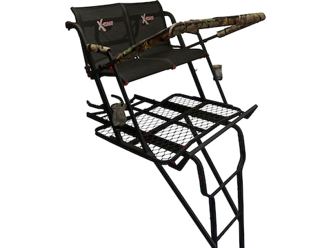 X-Stand The Talon 22' Double Ladder Treestand Steel