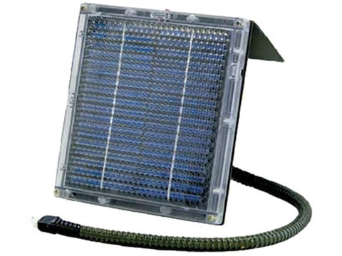 Texas Hunter Solar Panel 12 V For Trophy Game Feeders