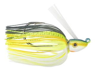 Strike King Hack Attack Heavy Cover Swim Jig Chartreuse Sexy Shad 1/2 oz