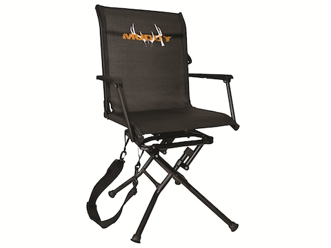 Muddy Outdoors Swivel Ease Chair Black
