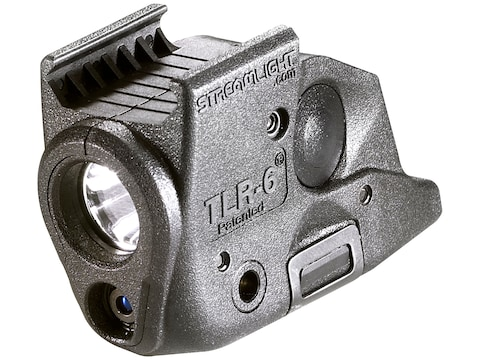 Streamlight TLR-6 Rail Springfield Armory Weapon Light LED and Laser Polymer Black