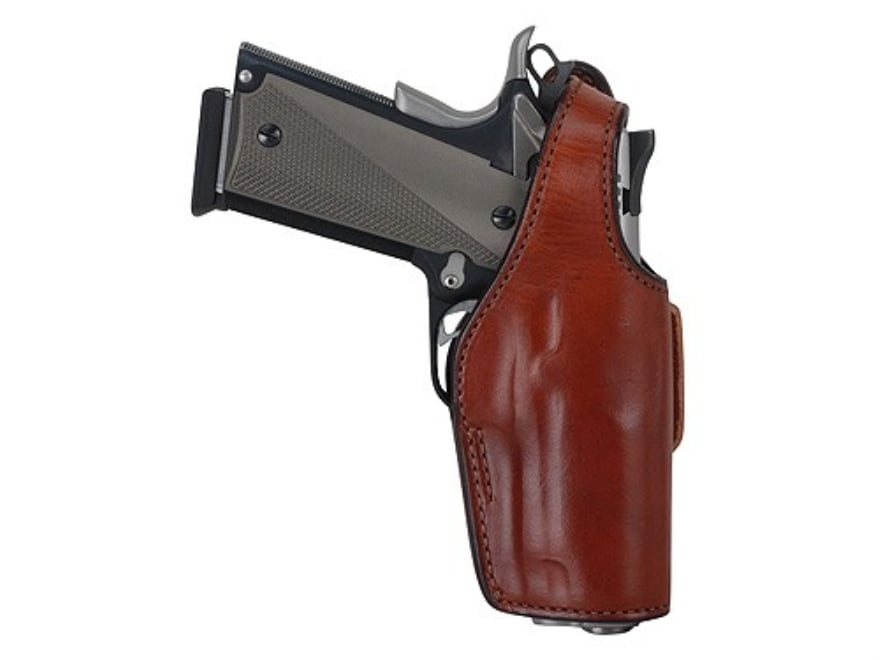 Bianchi 19L Thumbsnap Holster Right Hand Ruger P89 P90 P91 Suede Lined
