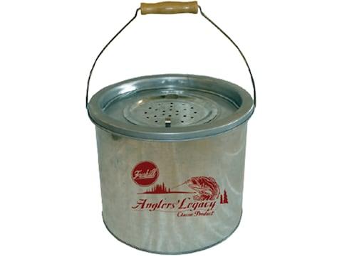 Frabill 8 Quart Galvanized Steel Wade Bucket