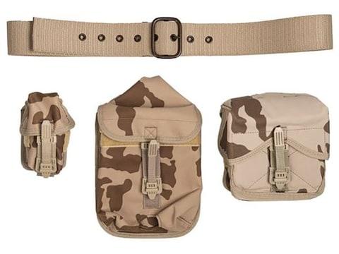 Military Surplus Czech 4-Piece Harness Set Grade 2 Desert Camo