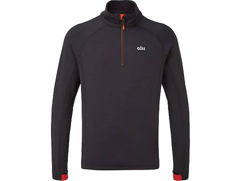 Gill Men's Thermal Zip Neck Base Layer Shirt