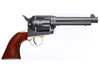 "Taylor's & Co Old Randall Single Action Revolver 357 Magnum 5.5"" Matte Blued Barrel Matte Blued Steel Frame Walnut Grips 6 Round"