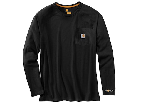 Carhartt Men's Force Delmont Long Sleeve T-Shirt Cotton/Polyester