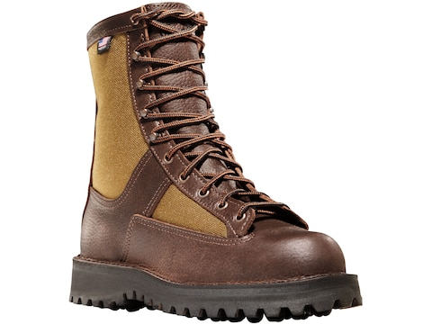 """Danner Grouse 8"""" GORE-TEX Hunting Boots Leather Brown Men's"""