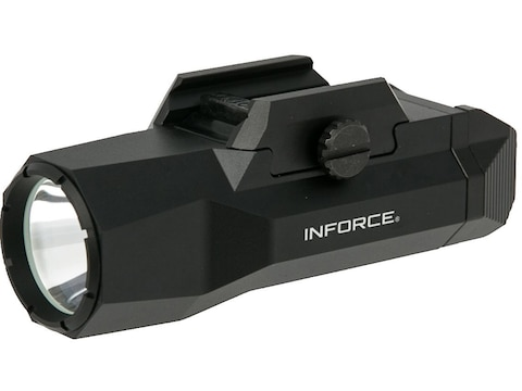 Inforce Wild 2 Weapon Light LED with 2 CR123A Batteries Aluminum Black