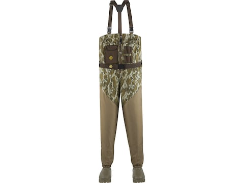 LaCrosse Alpha Agility Zip Breathable 1600 Gram Insulated Chest Waders Nylon Men's