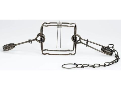 Duke #155 Body Trap Steel Silver