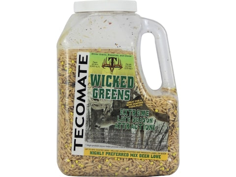 Tecomate Wicked Greens Annual Food Plot Seed 4.75 lb