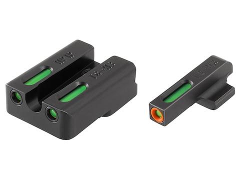 TRUGLO TFX Pro Sight Set HK 45, 45 Tactical, P30, P30L, VP9, VP40 Tritium / Fiber Optic...