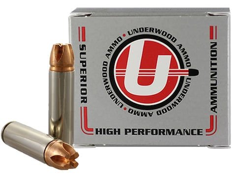 Underwood Ammunition 500 Auto Max 350 Grain Lehigh Xtreme Penetrator Lead-Free Box of 20