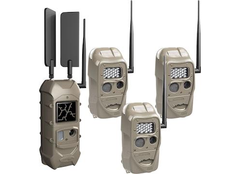 Cuddeback CuddeLink Starter Kit 3 + 1 Trail Camera Cellular Combo Pack