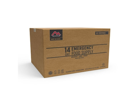 Mountain House Just In Case 14-Day 80 Serving Emergency Freeze Dried Food Kit