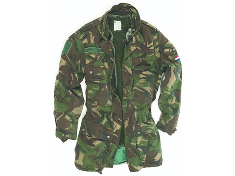 Military Surplus Dutch Parka with 2 Liners Camo