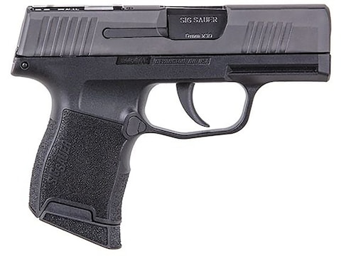 "Sig Sauer P365 SAS Semi-Automatic Pistol 9mm Luger 3.1"" Carbon Steel Barrel Stainless S..."