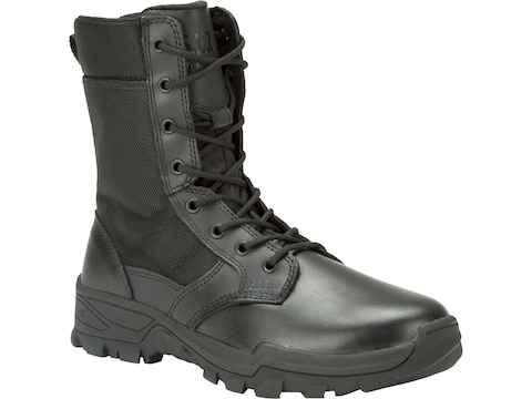 """5.11 Speed 3.0 Urban 8"""" Side Zip Tactical Boots Leather and Nylon Black Men's"""
