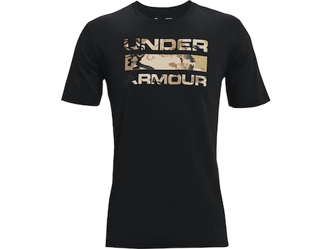 Under Armour Men's UA Stacked Logo Fill T-Shirt